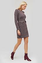 Короткое твидовое платье приталенного кроя (Etien crd), фото 2