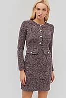 Короткое твидовое платье приталенного кроя (Etien crd)