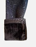Лосины на меху для девочки , теплые лосины рост 122, фото 5