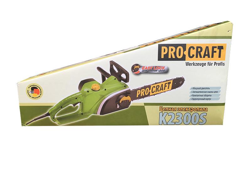 Электропила Procraft K2300S (быстрая натяжка)