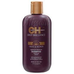 Увлажняющий шампунь для поврежденных волос CHI Deep Brilliance Olive&Monoi Optimum Moisture Shampo 355 мл