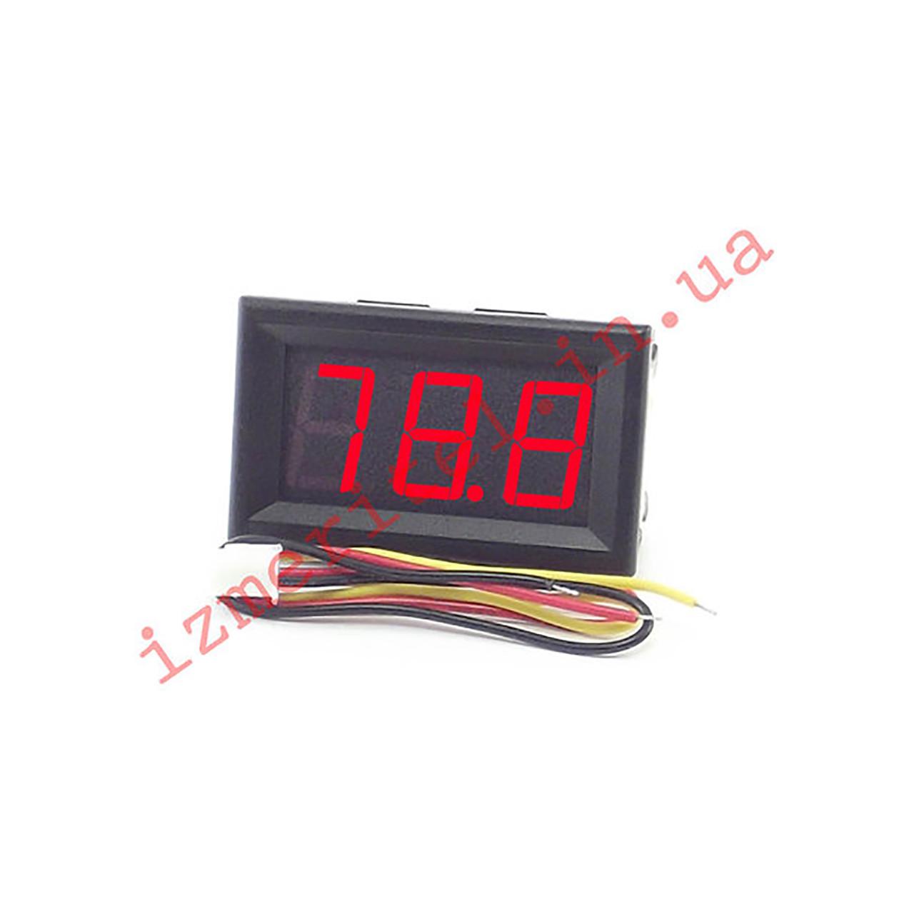 Цифровой вольтметр DC 0.0-100 В