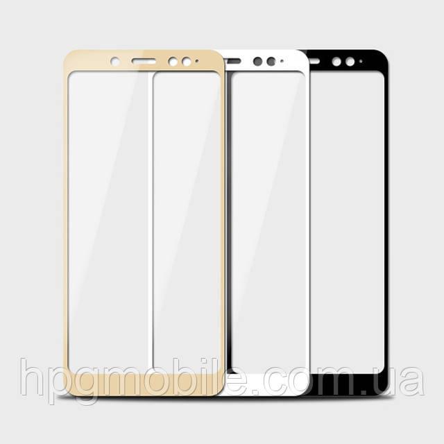 Защитное стекло 5D Full Glue на весь экран для Xiaomi Mi 6X