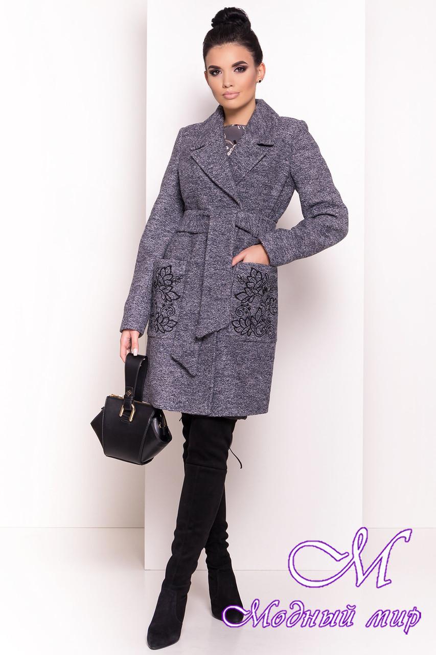Женское красивое пальто осень весна (р. S, M, L) арт. Милена 5273 - 36538
