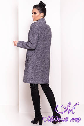 Женское красивое пальто осень весна (р. S, M, L) арт. Милена 5273 - 36538, фото 2