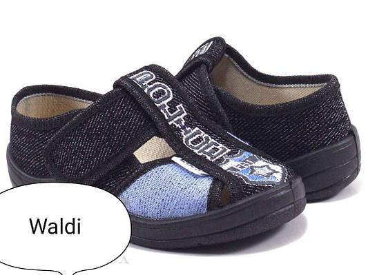 Купити Дитячі тапочки на хлопчика Waldi в