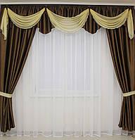 Купить шторы с ламбрекеном, фото 1