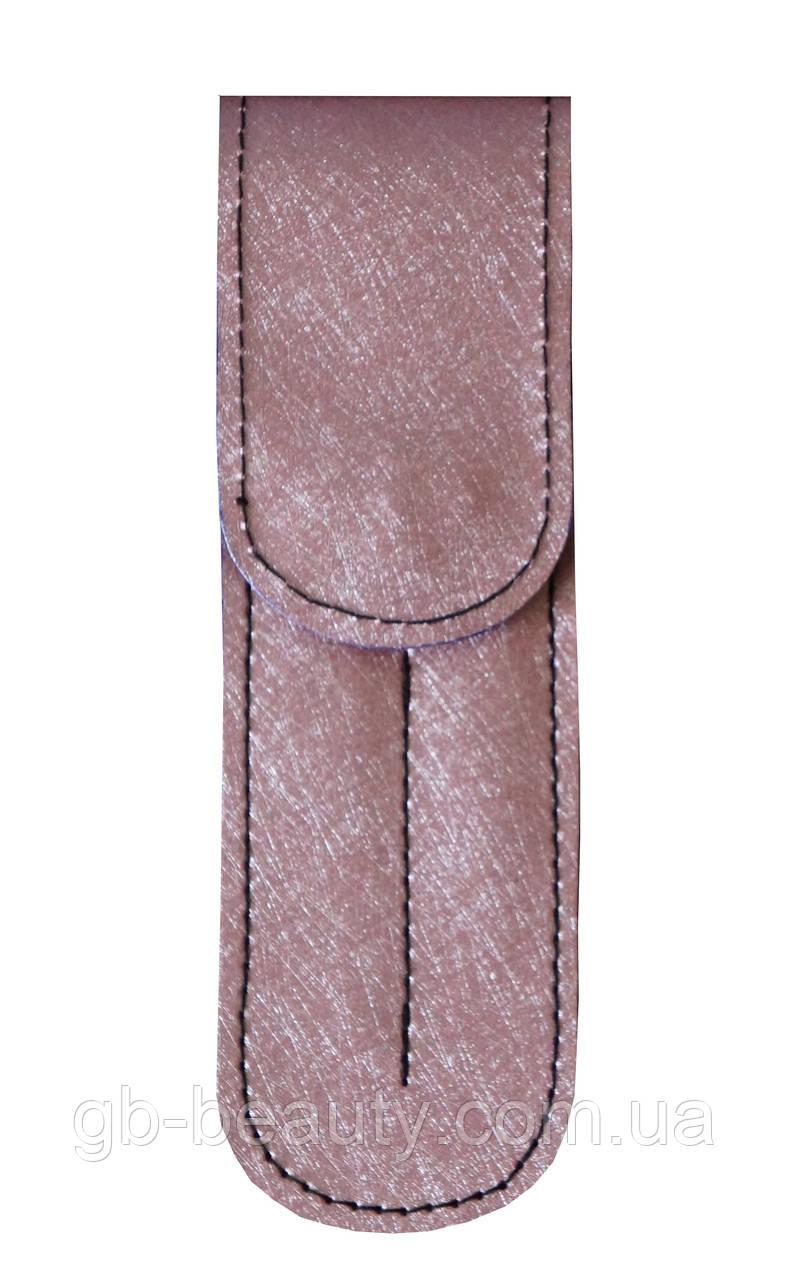 Чехол GM на 2 пинцета с магнитной кнопкой, (розовый)