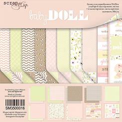 Набір дизайнерського паперу Baby Doll