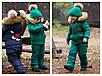 """Зимний комбинезон для мальчиков и девочек """"Микки"""", р-ры на рост 98-134, фото 4"""