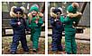 """Зимний комбинезон для мальчиков и девочек """"Микки"""", р-ры на рост 98-134, фото 5"""