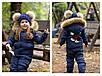 """Зимний комбинезон для мальчиков и девочек """"Микки"""", р-ры на рост 98-134, фото 8"""