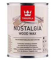 Віск для дерева TIKKURILA NOSTALGIA WOOD WAX Мед 0,333 л