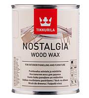 Віск для дерева TIKKURILA NOSTALGIA WOOD WAX Мед 1 л