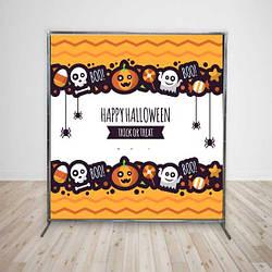 Баннер на Хеллоуин Тыквы 2х2 м