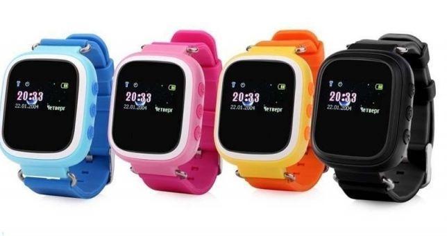 Наручные часы Smart Watch Q60. Детские смарт часы