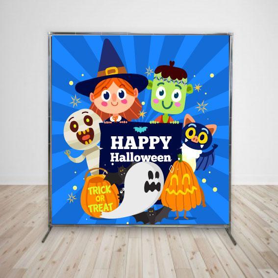 Баннер на Хеллоуин детский 2х2 м