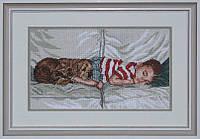 Набор для вышивки нитками на канве Сладкий сон КИТ 50410