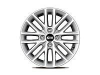 Диск колеса легкосплавный R15'x6.0J, KIA Stonic 2017-, h8f40ak300