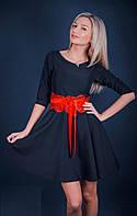 """Стильное молодежное платье мини """" Пояс кружево """" Dress Code"""