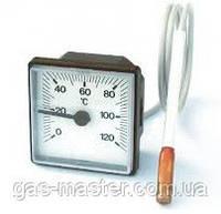 Термометр капиллярный квадратный 45х45мм (капиллярный термодатчик)