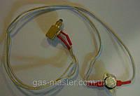 Термопрерыватель с проводами и датчиком тяги 95 градусов в сборе (котловой)