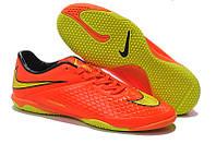 Футзалки (бампы) Nike HyperVenom Phelon Indoor Hyper Crimson/Gold/Atomic Orange, фото 1