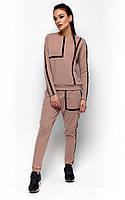 S, M, L / Молодежный спортивный костюм Alois, бежевый