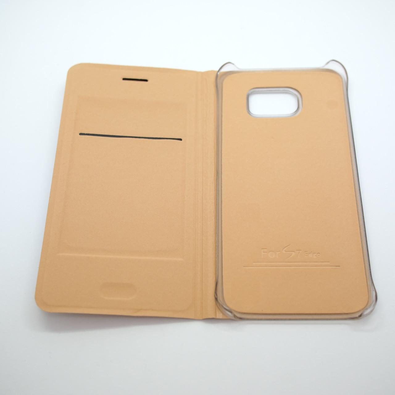 Чехлы для Samsung Galaxy S7 Book-case Edge G935 gold