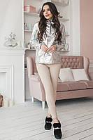 S, M, L / Молодежные женские стрейчевые джинсы Onil, бежевый