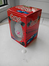 Шоколадное яйцо Cars 50г ( машинка)