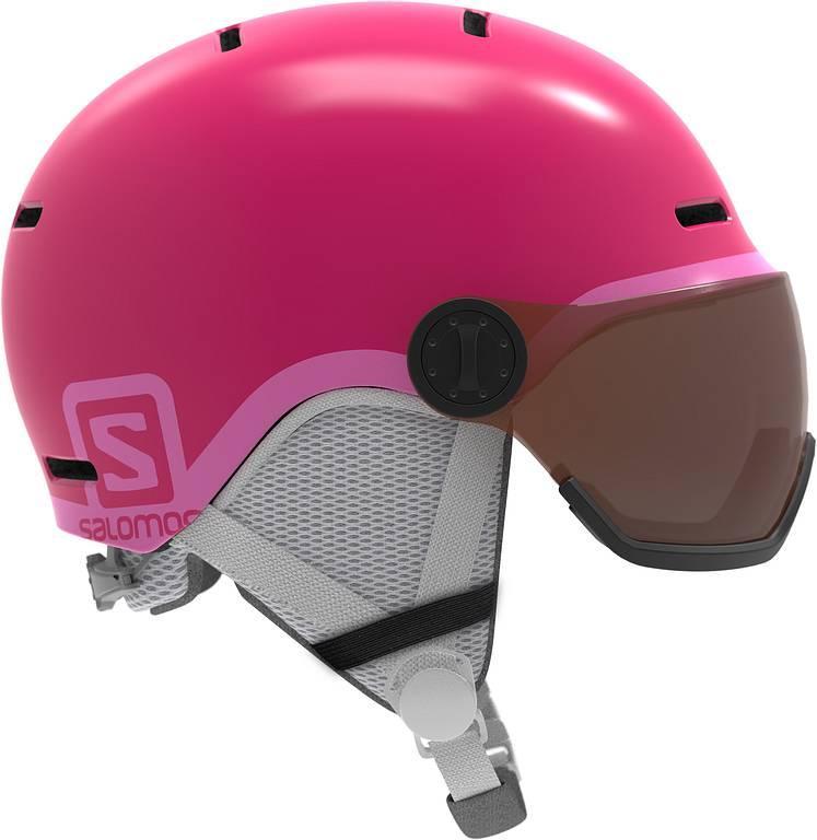 Горнолыжный шлем с визором Salomon Grom Visor, M 53-56 (MD)