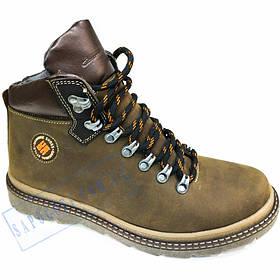 Кожаные зимние мужские ботинки Cayman Genuine Shoes GS10