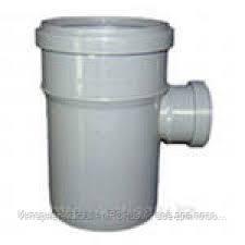 Тройник 50х32/90º ПП Европласт для внутренней канализации серый