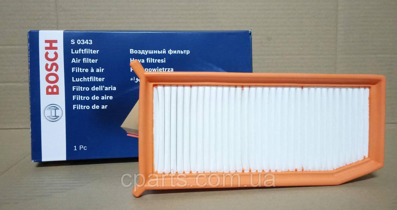 Воздушный фильтр Renault Sandero 2 1.5 DCI (Bosch F026400343)(высокое качество)
