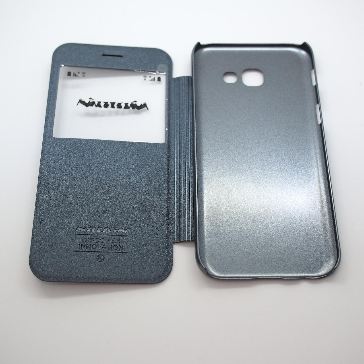 Чехол Nillkin Sparkle Samsung Galaxy A520 black A5 (A520) 2017