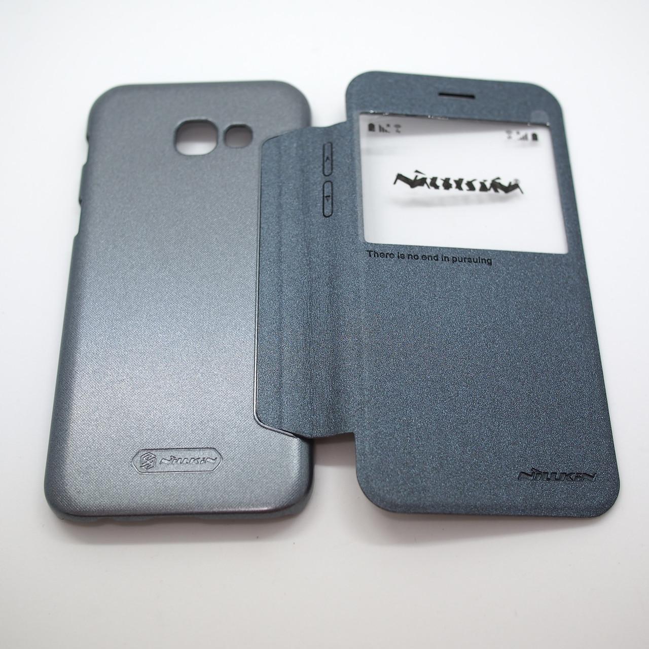 Nillkin Sparkle Samsung Galaxy A520 black A5 (A520) 2017 Для телефона