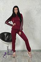 """Костюм спортивный женский """"Fashion girl"""", размеры норма 42-44, 46-48. Разные цвета., фото 1"""