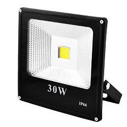 Прожектор SLIM YT-30W COB, 2700Lm, IP66 (влагозащита) - 30, премиум-класс