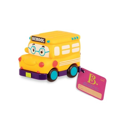 Машинка инерционная Забавный автопарк Школьный Автобус Battat BX1495Z