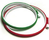 Пяльцы пластмассовые с зажимом, диаметр 150 мм, ВДВ, 979827