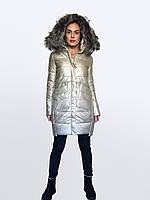 Модно и практично Брендовые дубленки из Экокожи высокого качества LORA DUVETTI (Китай) размеры в наличии