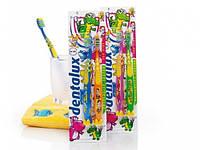 Зубная щетка  для детей на присосках DENTALUX