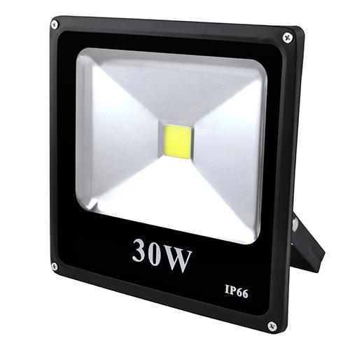 Прожектор светодиодный матричный 30W COB, IP66 (влагозащита), гладкий рефлектор - 8