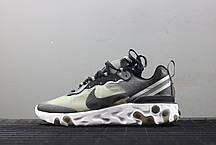 Мужские кроссовки Nike React Element 87 Anthracite Black AQ1090-001, Найк Реакт Елемент, фото 3