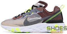 Женские кроссовки Nike Epic React Element 87 Undercover Desert Sand Cool Grey