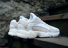 Женские кроссовки Adidas Yung-1 White / Running White / Cloud White B37616, Адидас Янг 1, фото 2