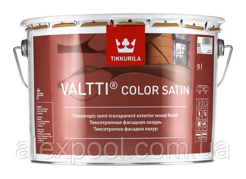 Valtti Color Satin лесуючий антисептик для обробки дерева ЄС 2,7 л