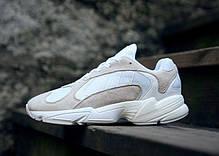 Мужские кроссовки Adidas Yung-1 White / Running White / Cloud White B37616, Адидас Янг 1, фото 3
