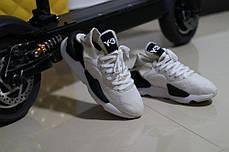 Женские кроссовки Adidas Y-3 Kaiwa White/Cream BC0907, Адидас У-3, фото 3